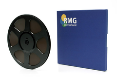 "RMGI SM468 Musician Tape 1/4"" x 600' 5"" Plastic Reel Hinged Box"