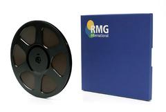 """RMGI SM468 Musician Tape 1/4"""" x 2500' 10.5"""" Trident Plastic Reel Hinged Box"""