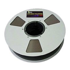 "RMGI SM468 Musician Tape 1/4"" x 2500' Metal Reel Box"