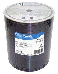 Falcon Media 52x CD-R White Inkjet Printable - 100 Discs
