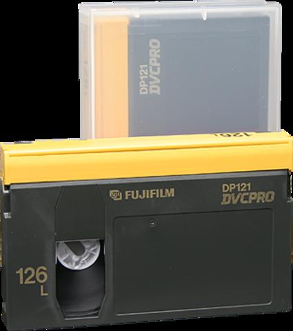 Fujifilm DVCPRO Large Cassette DP121-126L