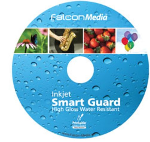 photograph relating to Printable Dvd Discs referred to as Falcon Media 16x DVD-R H2o Resistant White Inkjet