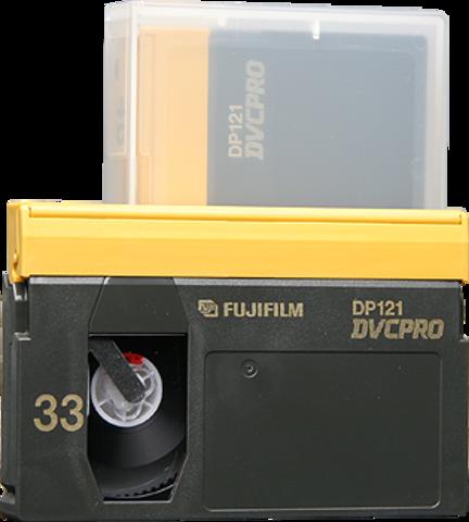 Fujifilm DVCPRO Medium Cassette DP121-33M