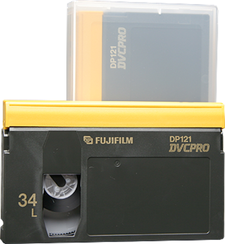 Fujifilm DVCPRO Large Cassette DP121-34L