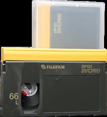 Fujifilm DVCPRO Large Cassette DP121-66L