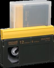 Maxell DVCPRO Medium Cassette DVP-12M
