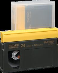 Maxell DVCPRO Medium Cassette DVP-24M