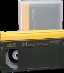 Maxell DVCPRO Large Cassette DVP-34L