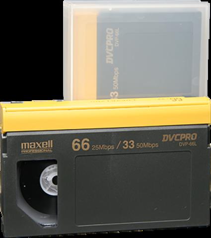 DVCPRO Large Cassette DVP-66L