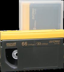 Maxell DVCPRO Large Cassette DVP-66L