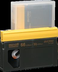 Maxell DVCPRO Medium Cassette DVP-66M