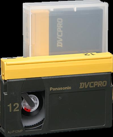 Panasonic DVCPRO Medium Cassette AJ-P12M