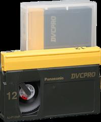 DVCPRO Medium Cassette AJ-P12M