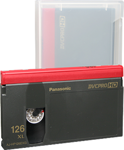Panasonic DVCPRO Extra Large Cassette AJ-HP126EXG