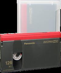 DVCPRO Extra Large Cassette AJ-HP126EXG