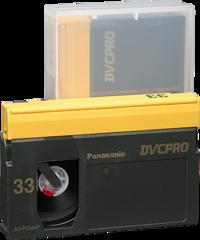 Panasonic DVCPRO Medium Cassette AJ-P33M