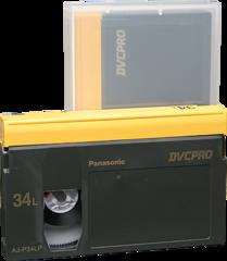 DVCPRO Large Cassette AJ-P34L