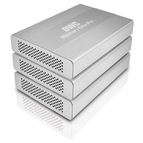 OWC  1TB Mercury Elite Pro mini USB 3.0/FireWire800 - 7200RPM