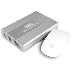 120GB Mercury Elite Pro mini USB 3.0/FireWire 800 - SSD