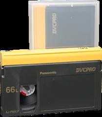 Panasonic DVCPRO Large Cassette AJ-P66L