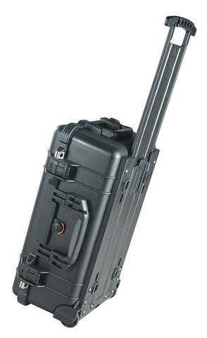 Pelican 1510 Carry On Case with Foam (Black)