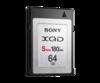 64GB XQD Memory Card S Series - QDS64E