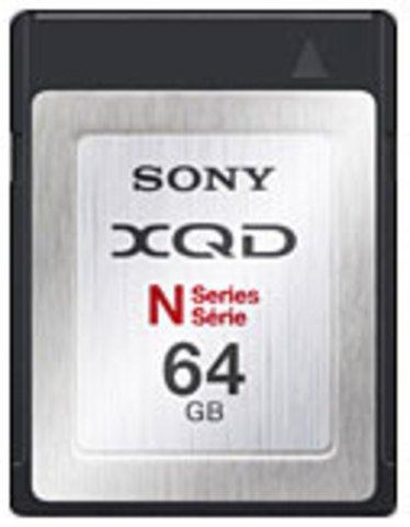 Sony 64GB XQD Memory Card N Series - QDN64/J