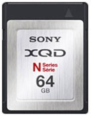 Sony 64GB XQD Memory Card N Series - QDN64/J