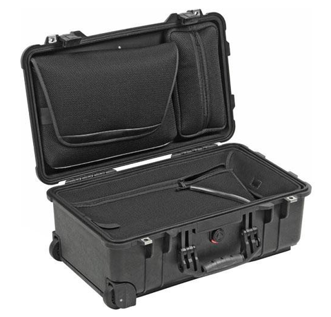 Pelican 1510LOC Laptop Overnight Case - Black
