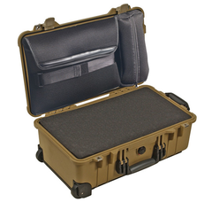 Pelican 1510LFC Laptop Overnight Case with Foam - Desert Tan