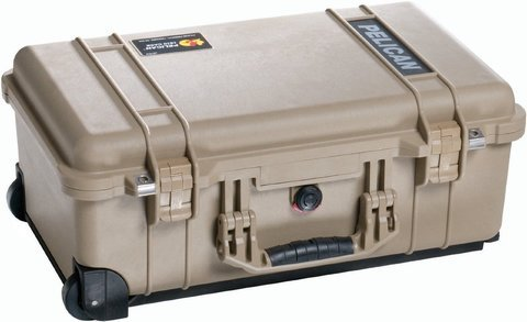 Pelican 1510 Carry On Case with Foam - Desert Tan
