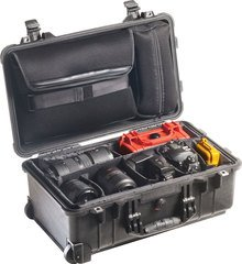 Pelican 1510SC Studio Case with Padded Dividers