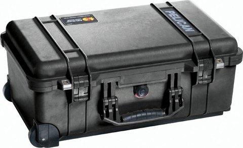 Pelican 1510 Carry On Case (No Foam) - Black