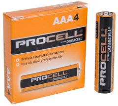 Duracell PROCELL AAA Battery 4-Pack