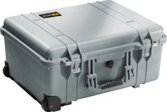1560NF - 1560 Case (No Foam), Silver