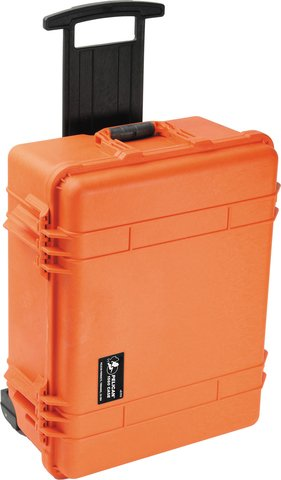 Pelican 1560NF - 1560 Case (No Foam), Orange