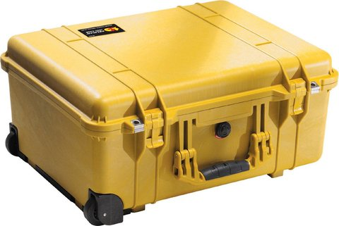 1560NF - 1560 Case (No Foam), Yellow