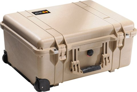Pelican 1560NF - 1560 Case (No Foam), Desert Tan