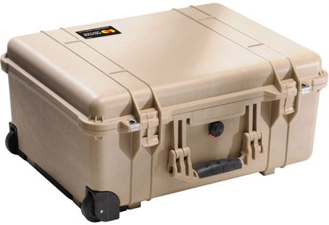 1560LFC (1560LOC with Foam) Laptop Overnight Case - Desert Tan
