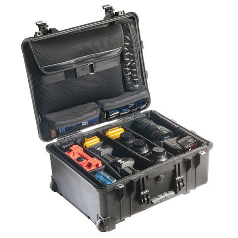 Pelican 1560SC Laptop Overnight Case - Black