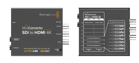 Blackmagic Design Mini Converter - SDI to HDMI 4K