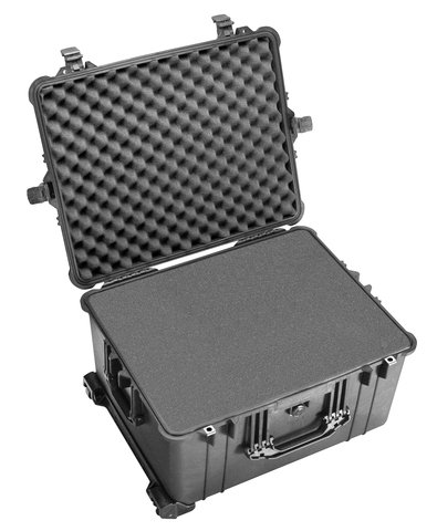 Pelican Black 1620 Case with Foam