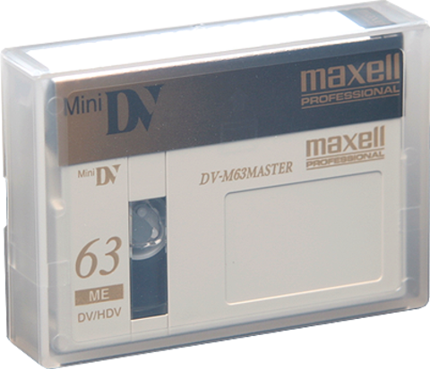 Maxell DV-M63 Master 63 Minute Mini DV Tape