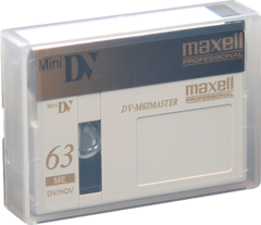 Maxell DV-M63 Master 63 Minute Mini DV Tape