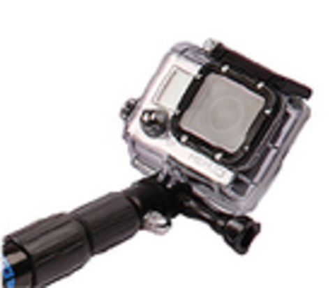 Underwater Kinetics Telescoping POLE 38HD - Electric Blue