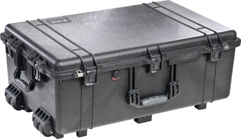 1650 Case with Foam - Black