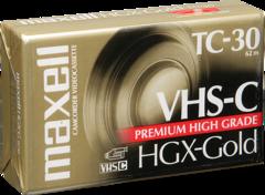 VHS-C HGXGOLDTC-30 30 Minutes
