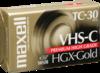 Maxell VHS-C HGXGOLDTC-30 30 Minutes