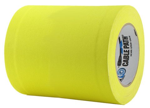 Pro-Tapes Cable Path Tape - Yellow - 6 Inch