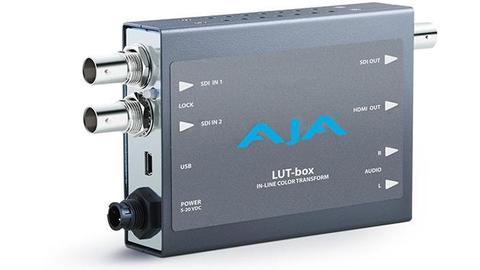 AJA Mini Converter - LUT-box